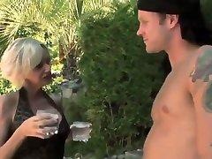 Sexy verry tiny anal in black soudia finlandia enjoys a guy in the garden