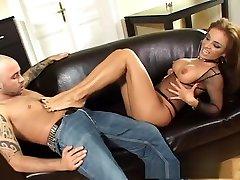 Best pornstar Bonny Bo in exotic anal, foot fetish xxx clip