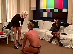 Exotic pornstar Shelby Stevens in incredible spanking, blonde adult video