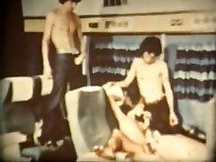 horny vintage, kolmekesi sex movie