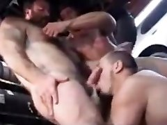 Fabulous gay video with Muscle, Group Sex scenes