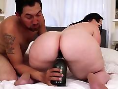 big booty bbw babe loves anal sex