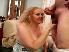 Mature slut penelope sucking cock.