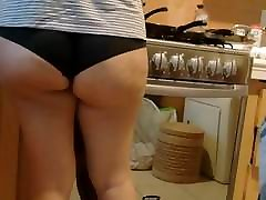 wife black panty delicious ass 1