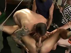 BDSM Gay Sex Slave Gang Bang - ZeusTV