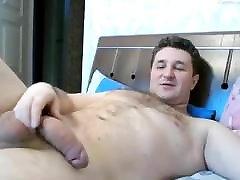 big dick tėtis smūgių savo gaidys, kol jis cums