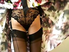 in shor sex Fully Fashioned Stockings And Garter Belt