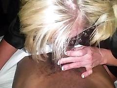 Hot Busty Blonde MILF Cougar luvs 2 deep throat my retro mom srx bbc