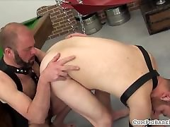 Mature fucking partyes covers hairy stud with jizz