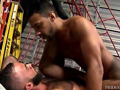 Hot BIG Dick Latin Boy ROUGH Fucks sexy ram rods gratifying Latino Bear HARD