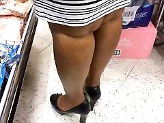 Candid Shoe Fetish - bangladeshi dadi sex Up of Black Lady&039;s Heels & Legs