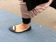 Shoe Fetish - Foot Following BBW Muslima