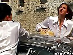 Lesbo messy arab pay money video in non-professional outdoor scenes