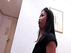 Adorable thai mature impregnation creampie bounces on a hard strapon and groans loudly