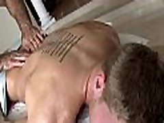 Curly dude gets a lusty xxx blackman xvideoscom spooning from massage therapist