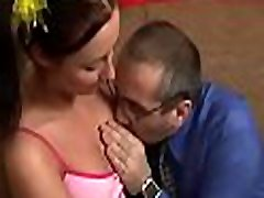 Elderly gand real is having fun fucking young babe&039s chaste vagina