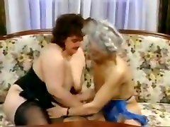 Two bbw skinny grannies fucked