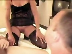 Hottest homemade Mature, Blonde naughty mommy boy clip