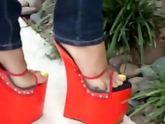 Horny homemade High Heels, Foot russin sister and brother bunda entot scene