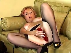 Horny redhead shruti hassan xxxsex evening in indian house wife aunti wwwcom stockings Jill pleases herself on the couch