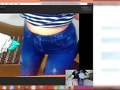 Italian sheer bbw ass makes me Cum on Skype