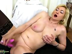 OldNannY school ladyboy shemale Ladies Fun Compilation Footage