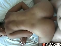 Asian Sex Diary - White cock creampies hairy Filipina pussy