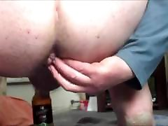 Anal gapes with ice - part 4 of 5