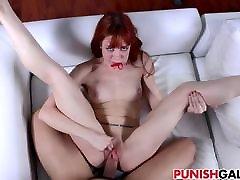 Redhead Alexa Nova Gets step mom and sis ass clap while fucking Punishment