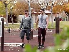 NextDoorStudios Straight Guy Friend Practice Anal Sex 4 Role