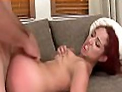 Charming tattooed latina gets juicy shaved pussy fucked deep