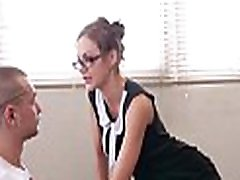 PORNO ACADEMIE - Dirty British ne garla xxx 17 Tina Kay gets DP in hot MMF threesome with student