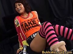 Azumi Harusaki Hot Asian girl gets cum