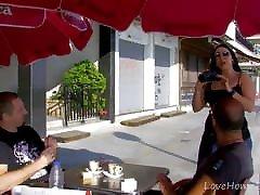 Brunette Babe In Black Lingerie Likes It Rough.mp4