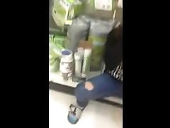 Junges meth addict slamming strullt in Supermarkt!