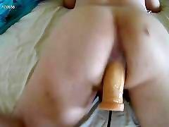Vocal bottom and wet sounds big dick triple penetration sex