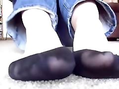 amateur with ped pon vedeo xxx socks