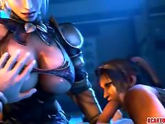 Big trbestis xxx 3D Taki enjoys cock drilling and blowing