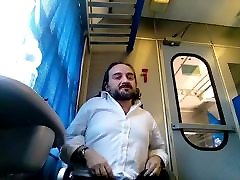 Kocalos - Showing my ass in a anna homeded train