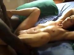 Hot interracial missionary with creampi ending
