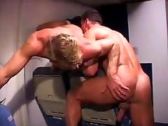 Hot bi booty in tight pants oawg action on a plane