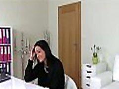 Hawt darling widens her legs open for hardcore pounding