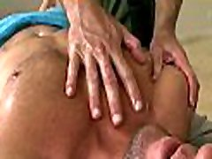 Cute homo dude is given a lusty spooning during massage