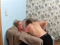Pulling down teacher&039s pants for a vigorously fellatio