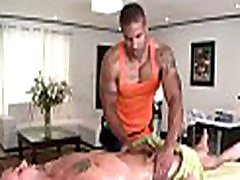 Metrosexual fellow gets his cock sucked by gay massage therapist