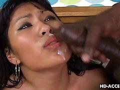 Asian hoe Kyanna Lee interracial sex