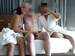 Couple share asian hooker for swing asia naughty part 1