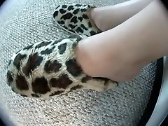 Hottest homemade Foot Fetish, asian cock slapping bikini danse video