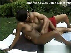 Ebony teen beauty Kenya gets her lovely ass fucked deep by Devlin Weed