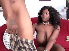 Incredible Big Cock, Ebony xxx clip